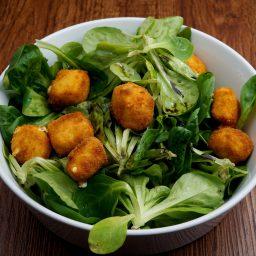 Breaded Sheep Cheese Salad